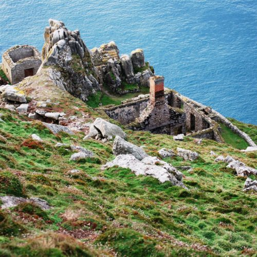Lundy Fog Battery Complex restored by Old Light Building Conservation