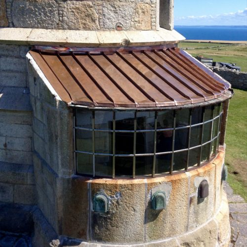 Lundy Lighthouse restored by Old Light Building Conservation