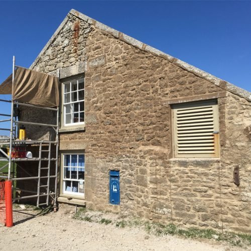 Lundy Marisco Tavern restored by Old Light Building Conservation
