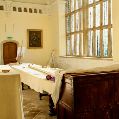 Trerice restored by Old Light Building Conservation
