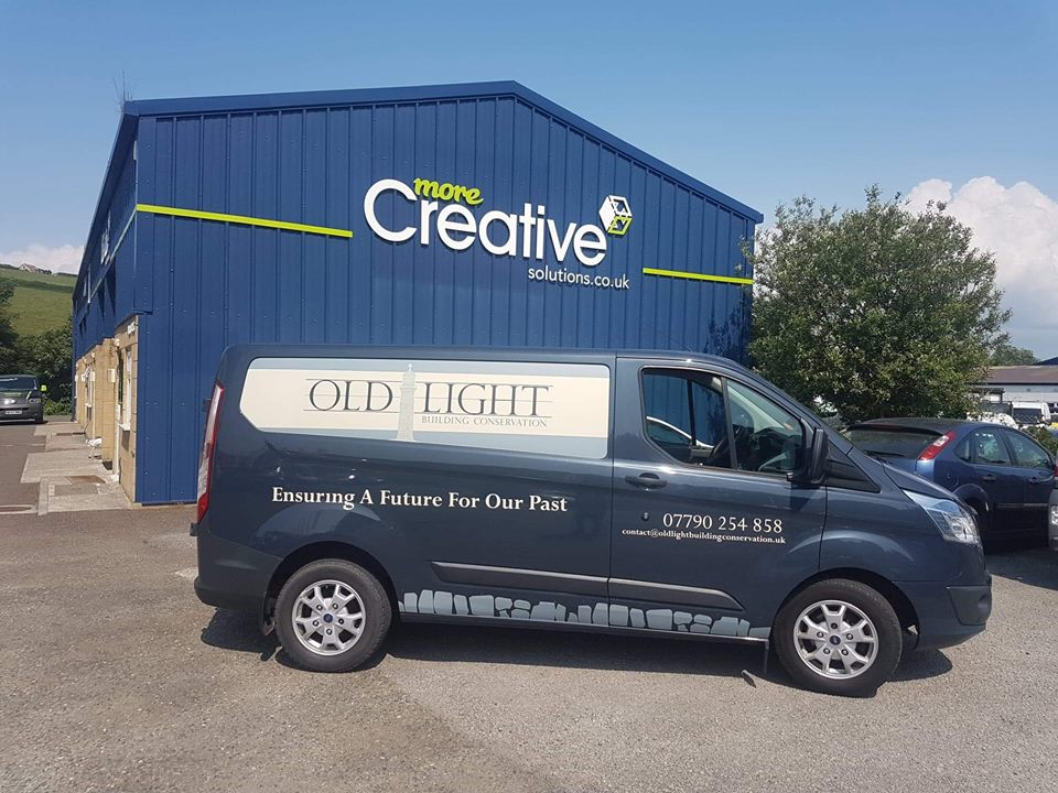Old Light Building Conservation Van Livery