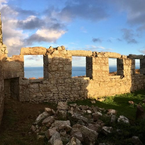Lundy Island Monuments restored by Old Light Building Consveration